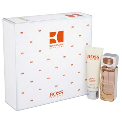 boss orange woman gift set