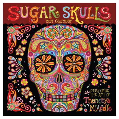 Sugar Skulls 2014 Wall Calendar