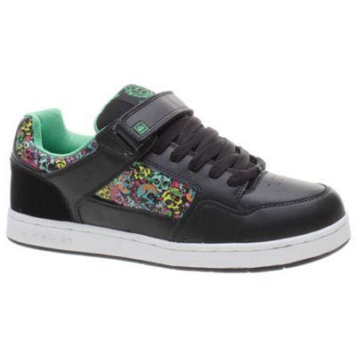 Quiksilver Transfer Black/Black/Skulls Shoe