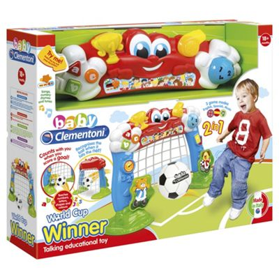 Baby Clementoni World Cup Winner Football Goal
