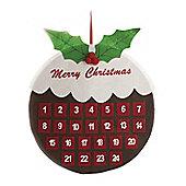 Felt Christmas Pudding Advent Calender