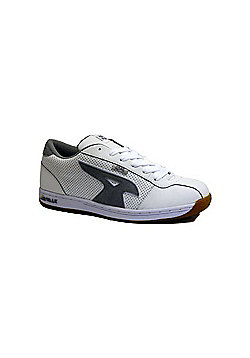 Airwalk 901 Action Leather White/Grey Shoe - White