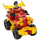 Imaginext Streets of Gotham City Robin and ATV
