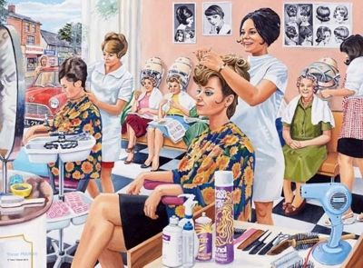Happy Days at Work - The Hairdresser - 500pc Puzzle