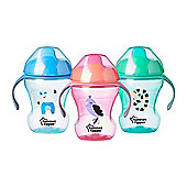 Tommee Tippee Training Sippee Cup 7m+│BPA Free│Two Piece Non Spill Valve│447110