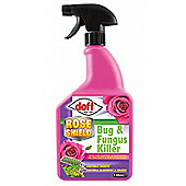 Doff Rose Shield Pest Control Insecticide Fungicide Bug and Fungus Killer- 1L