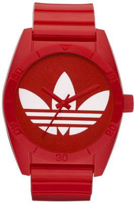 Adidas Unisex Red Sports Watch ADH2655