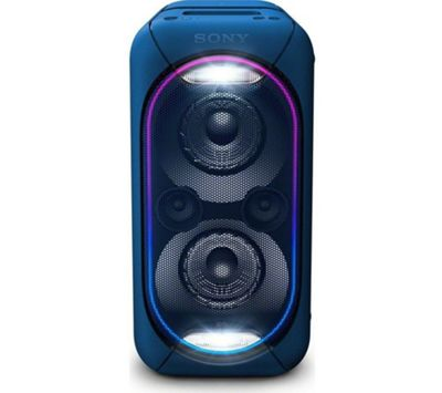 Sony GTK-XB60 High Power Portable Audio System with Bluetooth - Blue