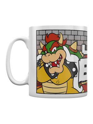Super Mario Like A Boss Boxed White Ceramic Mug 10oz