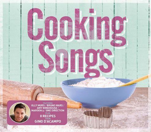COOKING SONGS (3CD)