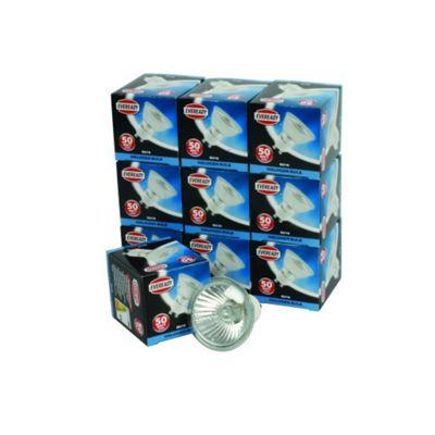 Eveready GU10 Halogen Spot Lamps Light Bulb 50W 10 Pack