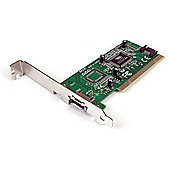 1 Port eSATA + 1 Port SATA PCI SATA Controller Card w/ LP Bracket