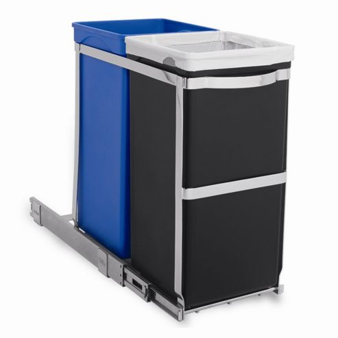 simplehuman 20/15 Litres Pull Out Recycler Bin
