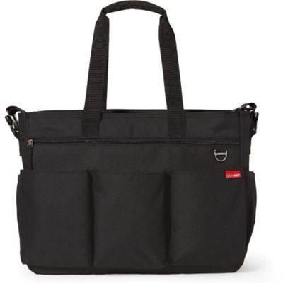 Skip Hop Duo Double Signature Changing Bag (Black)