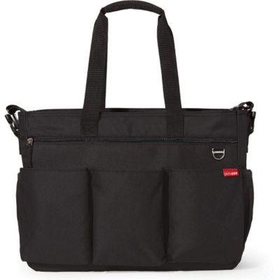 Skip Hop Duo Double Signature Changing Bag (Black)