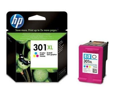 Hewlett-Packard CH564EE#301 301XL Ink Cartridge - Cyan/Magenta/Yellow