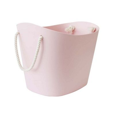 Hachiman Balcolore Laundry & Storage Basket Small Pink
