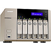 QNAP Turbo vNAS TVS-663 6 x Total Bays NAS Server - Tower