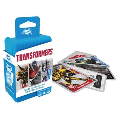 Shuffle Transformers Travel Card Game