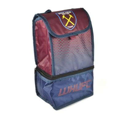West Ham United FC 'Fade' Dual Compartment Premium Lunch Bag