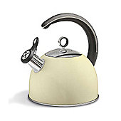 Morphy Richards - Accents 2.5 Litre Cream Whistling Kettle