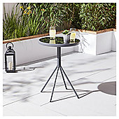 Tesco Grey Metal Bistro Table