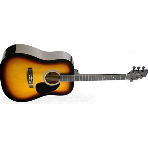 Rocket SW203 Dreadnought Acoustic Guitar - Sunburst