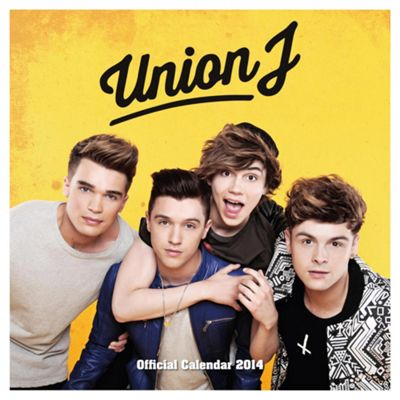 Union J 2014 Wall Calendar