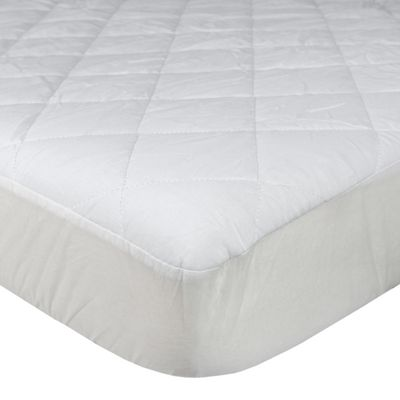 Homescapes Quilted Mattress Protector Small Double