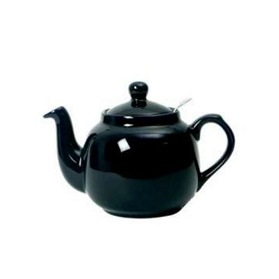 London Pottery Farmhouse Filter Teapot, 6 Cup, Cobalt Blue