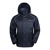 Mountain Warehouse Pakka Mens Waterproof Jacket - Black