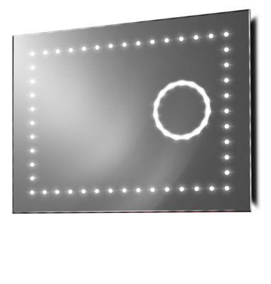 Slimline Magnification Mirror With RGB Under Lighting, Demist & Sensor k100rgb