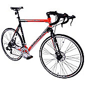 Ammaco XRS 750 Mens 700c Road Bike 64cm Frame Red