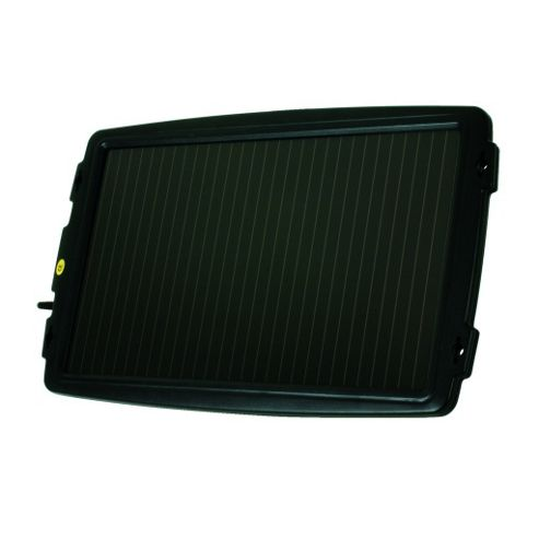 Solar Powered 12V 2.4W Battery Trickle Charger