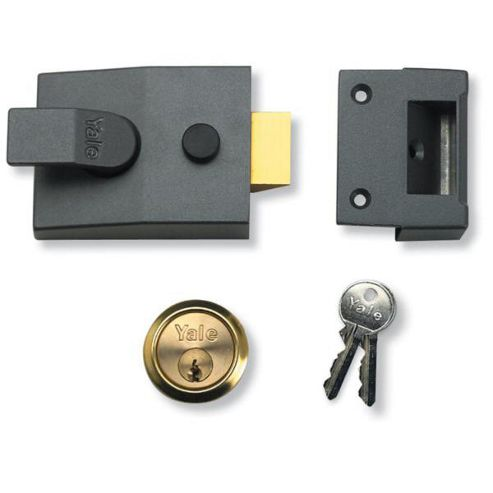YALE 85 & 89 Deadlocking Nightlatch - 60mm BLUX Boxed