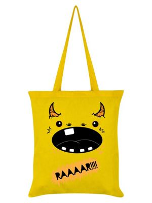 Monstees Monstee - Hungree Yellow Tote Bag
