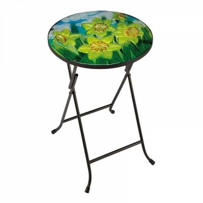 Smart Garden Daffodil Glass Patio Table