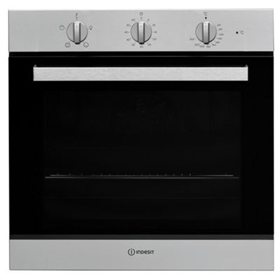 Indesit Aria Electric Built In Single Oven IFW 6230 IX UK - Stainless Steel