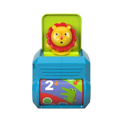 Fisher Price Spin N Surprise Lion/Jack in the Box