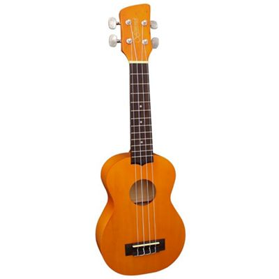 Brunswick Soprano Ukulele with Aquila Strings - Natural