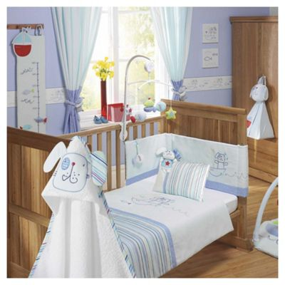 Lollipop Lane Fish and Chips Nursery bedding set, Cot/Cot Bed