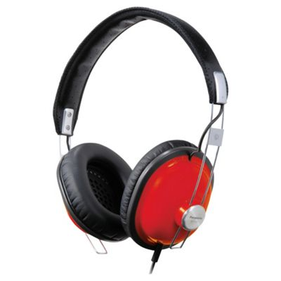 Panasonic RP-HTX7A Street Headphones - Red
