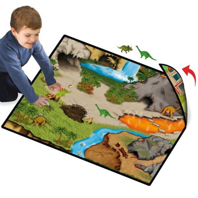 Neat Oh! 2 Sided Play Mat with 2 Dinosaurs