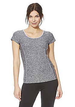 F&F Active Space Dye T-Shirt - Grey