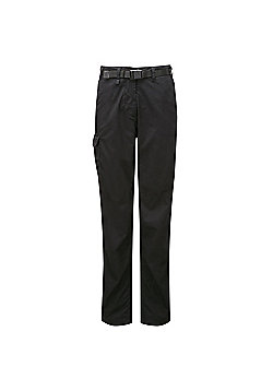Craghoppers Ladies Kiwi Classic Walking Trousers - Black