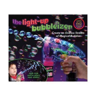 Light Up UV Bubble Gun
