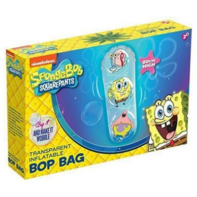 SpongeBob SquarePants 80cm Transparent Inflatable Bop Bag