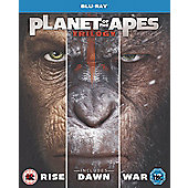 Planet Of The Apes Trilogy Boxset BD