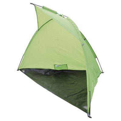 Tesco Wind Shelter Camping Windbreak, Green