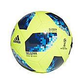 adidas Telstar Fifa World Cup 2018 Glider Football Soccer Ball Yellow/Blue - 5